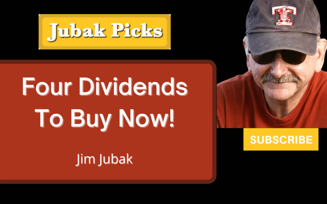 Watch my YouTube video on 4 best dividend stocks NOW!