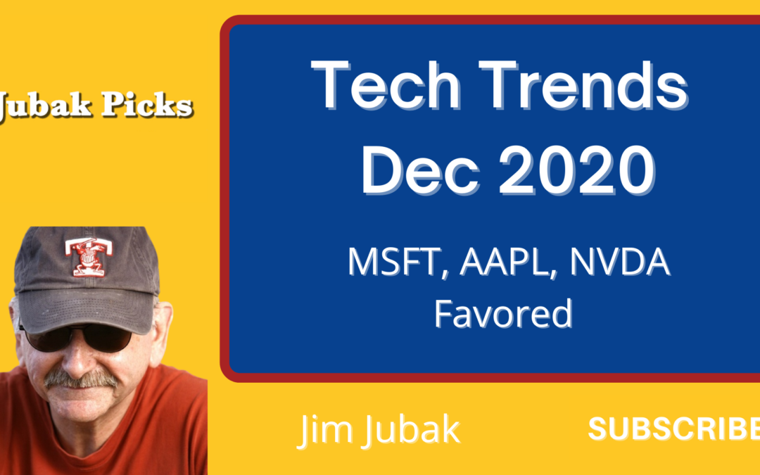 Watch my YouTube video, please, on what Apple and Microsoft's moves on Intel mean for tech stocks