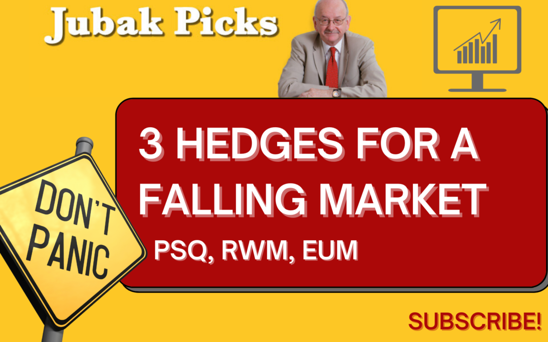 Watch my YouTube video: Three hedges for a falling market