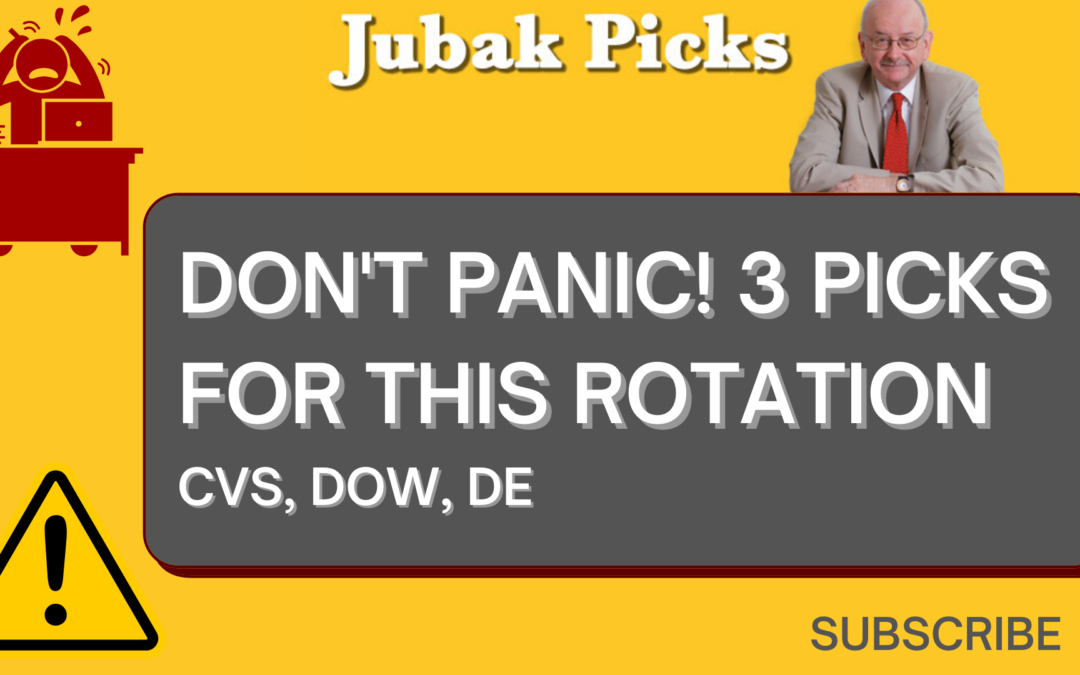 """Watch my new YouTube video """"Don't panic: 3 Picks for This Rotation"""""""