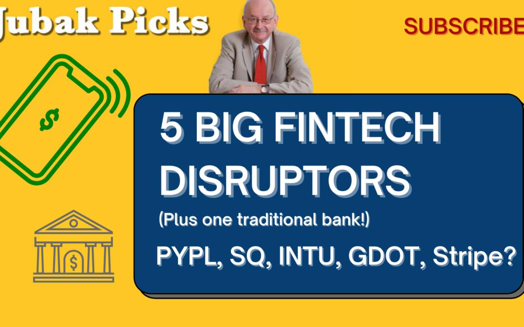 Watch my new YouTube video: 5 big FinTech disruptors