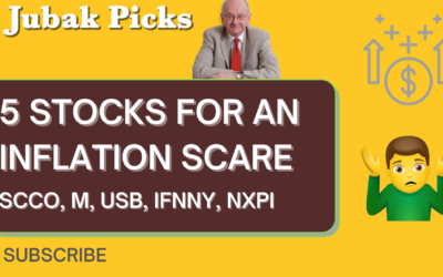 Watch my new YouTube video: 5 Stocks for an Inflation Scare