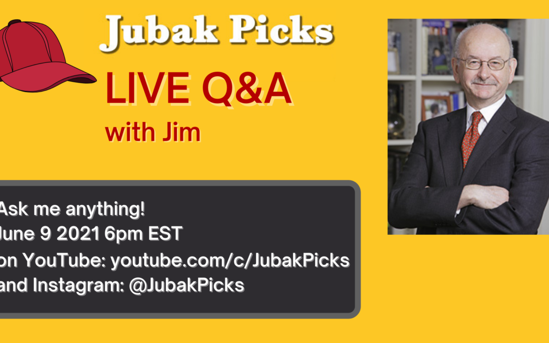 Join me tomorrow, Wednesday, at 6 p.m. for a live Q&A on YouTube and Instagram
