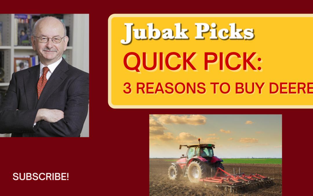 Watch my new YouTube video: QuickPick–3 reasons to buy Deere