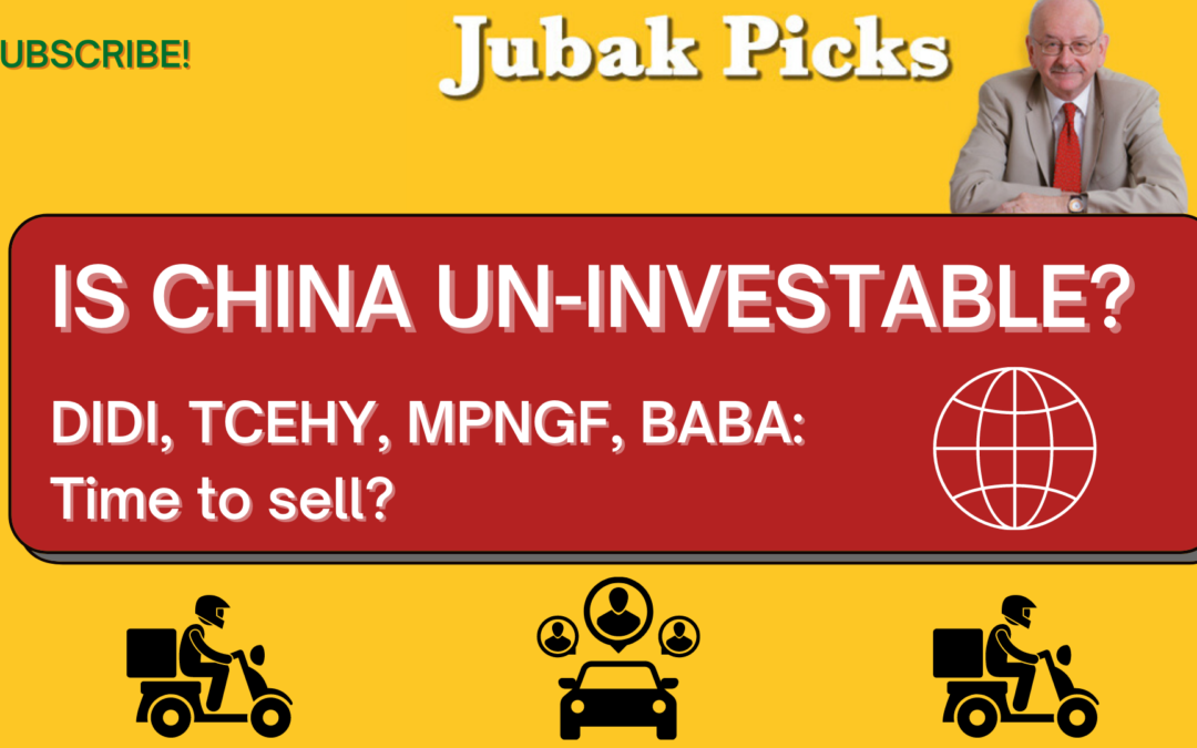 Watch my new YouTube video: Is China un-investable?