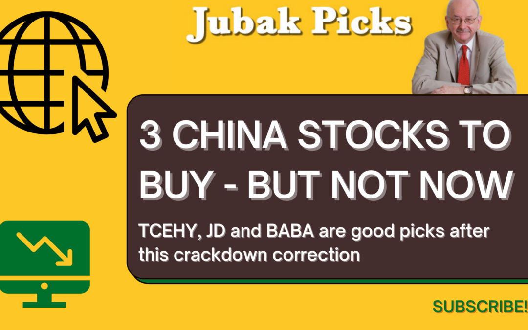 Watch my new You Tube Video: 3 China stocks to buy but not now