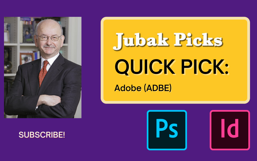 "Watch my new YouTube video: ""Quick Pick Adobe"""