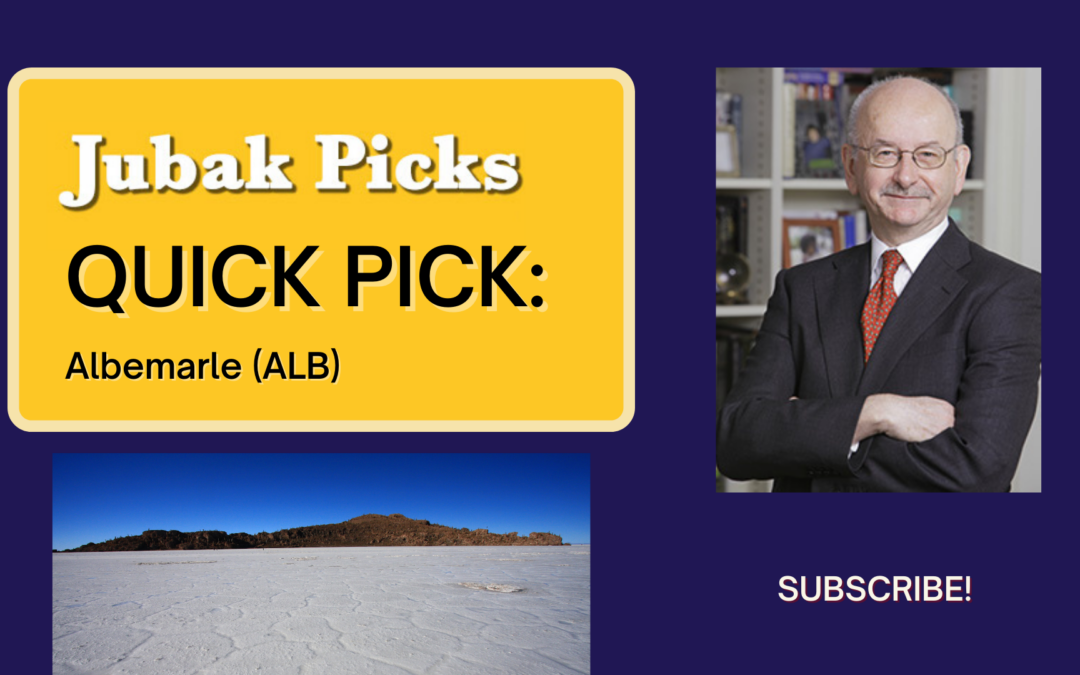 """Watch my new YouTube video: """"Quick Pick Albemarle:"""
