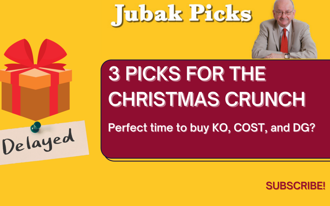Watch my new YouTube video: 3 Picks for the Christmas Crunch