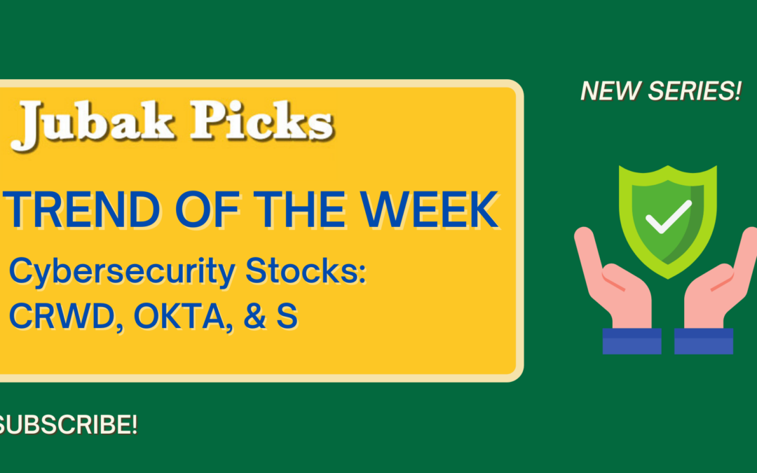 Watch my new YouTube video: Trend of the Week Cyber Security Stocks